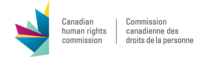 The Canadian Human Rights Commission logo.